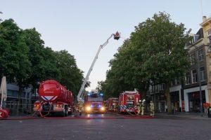 Watertank brandweer tankwagen