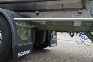 Tank ombouw chassis
