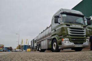 Tank ombouw voorzijde vrachtwagen