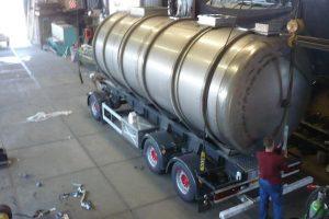 Tankbouw Tankaanhangwagen RVS