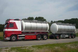 Tankbouw Tankaanhangwagen RVS tankcontainer