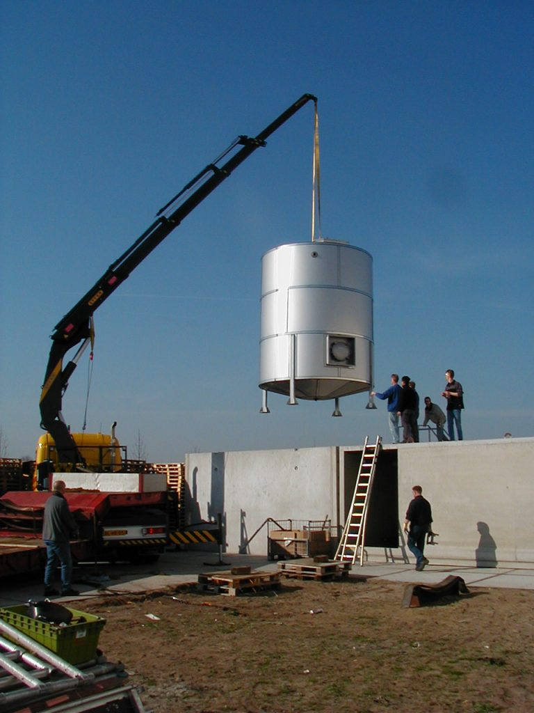 Rvs opslagtank 1000 liter