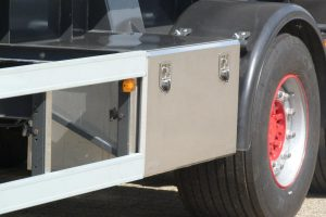 Tankbouw Tankaanhangwagen RVS kist