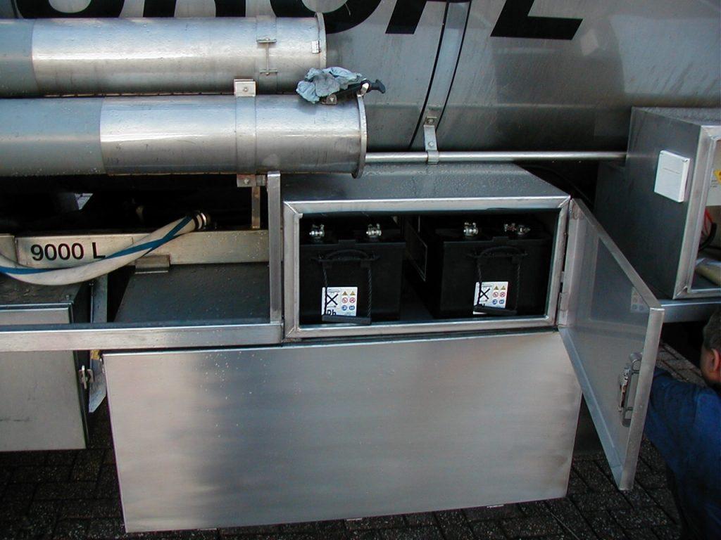 Tankverwarming accukist