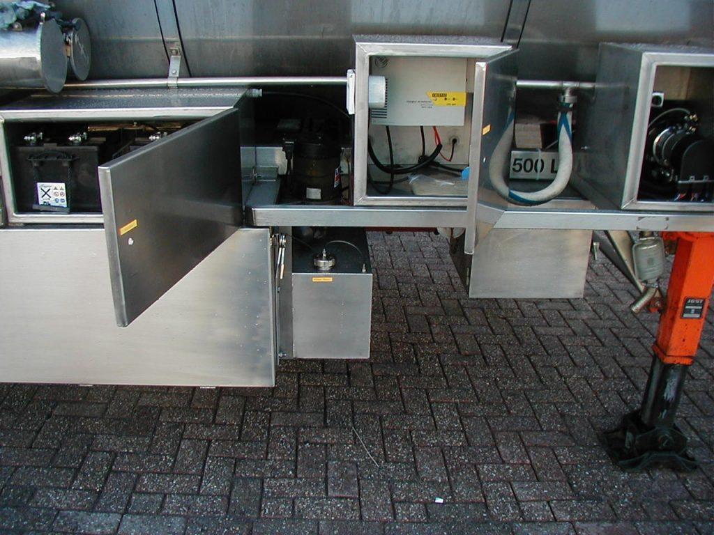 Tankverwarming kist