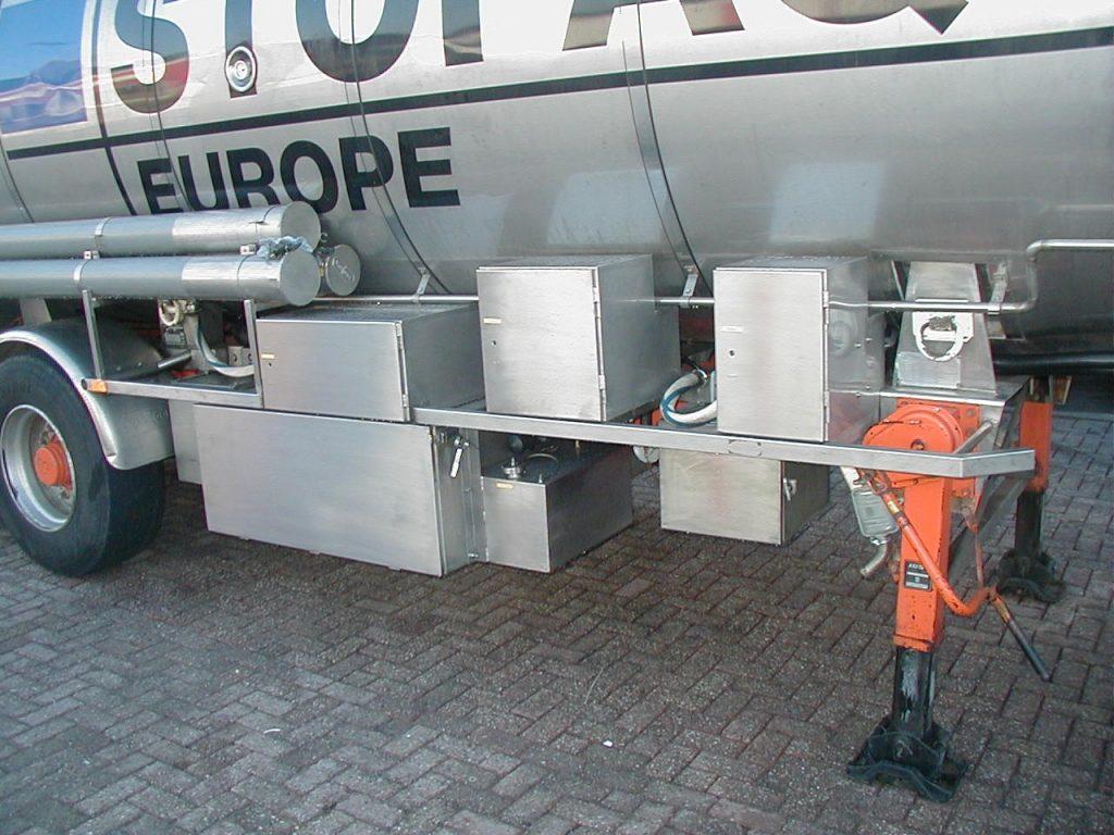 Tankverwarming opbouw