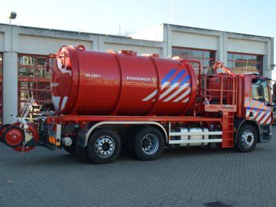 Watertankspuit Veiligheidsregio