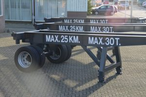 Skeleton trailers