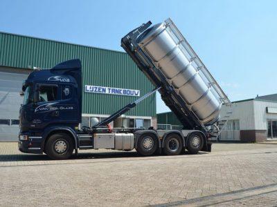 Tankcontainer nieuwbouw maatwerk