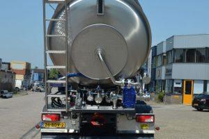 Tankcontainer slanghaspel rvs
