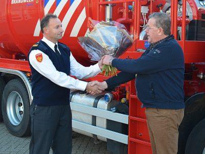 Brandweer Deventer watertankspuit